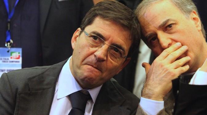 La Campania come la Bosnia, Cosentino scaricato da Berlusconi
