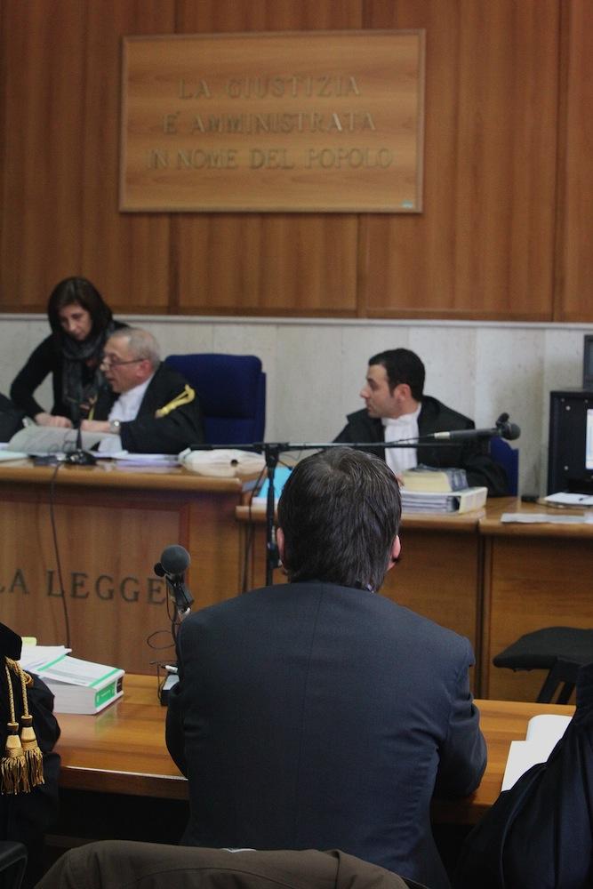 Nicola Cosentino in Tribunale
