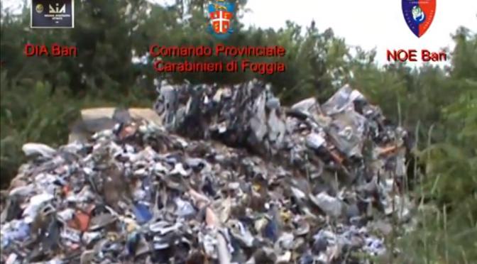 L'Italia dei veleni. Scoperti traffici illeciti di rifiuti Campania-Puglia